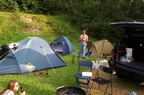 Camping Scuol und Alk-Shopping Samnaun - August 2001